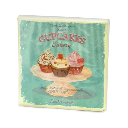 Servilletas 33×33 Cupcakes x20 uds