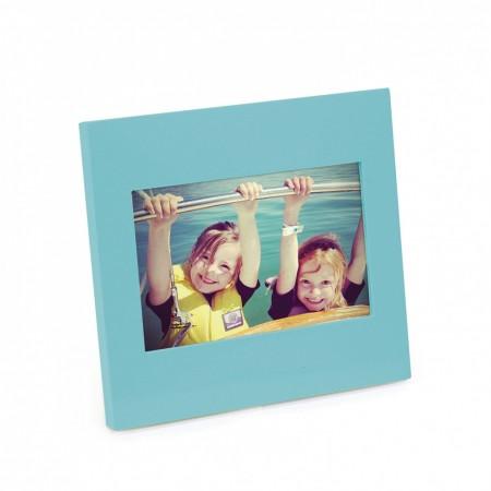 Portarretratos simple 10×15 azul surf