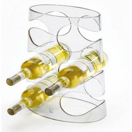 Rack para vinos GRAPEVINE transparente