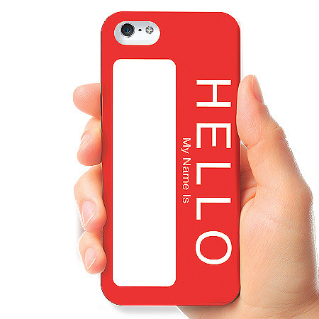 Carcasa iPhone 5/5s: Hello My Name Is