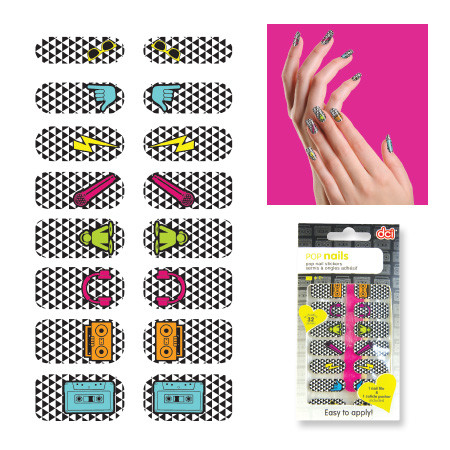 Set stickers de uñas Pop