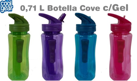 Botella Cool Gear con gel 710 ml – colores lisos
