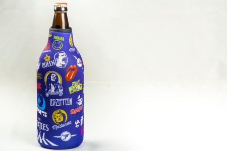 Funda neopreno botella con destapador