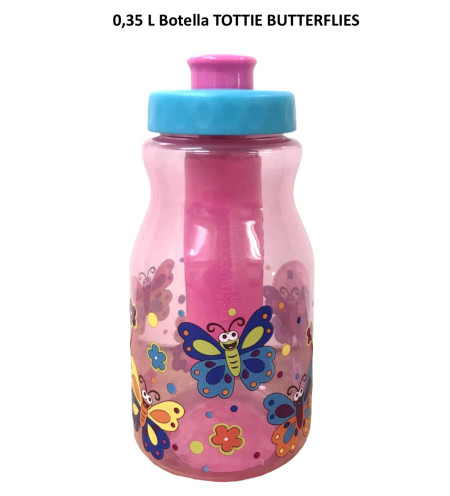 Botella Tottie Butterflies 0.35L