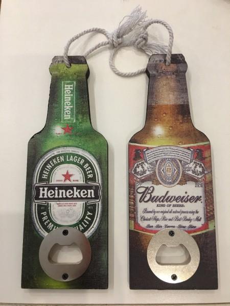 Destapador de madera botella