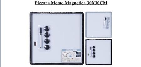 Pizarra memo magnética 30x30cm