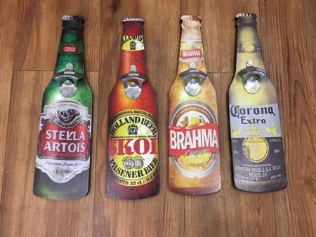Destapador forma botella