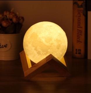 Lámpara luna mini