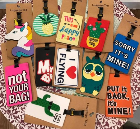 Tag para valijas – diseños varios