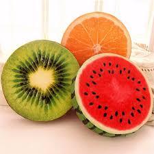 Almohadón frutas