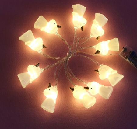 Guirnalda de luces de unicornio