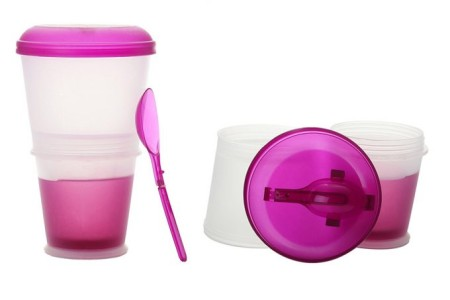 Vaso Yogurt con gel Home
